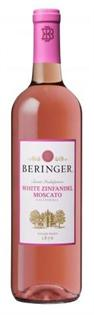 Beringer White Zinfandel Moscato 750ml - Case of 15